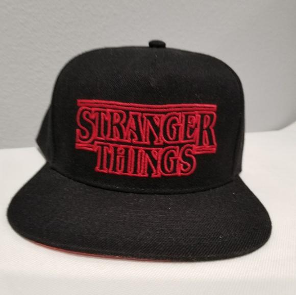 NEW Stranger Things Loungefly Hat Baseball Cap NWT